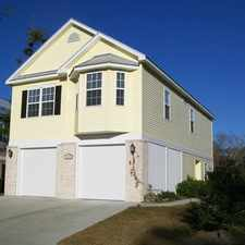 Rental info for AVAILABLE SOON! 4 BED 3/BATH BEAUTIFUL HOME IN COTTAGES AT THE SURF