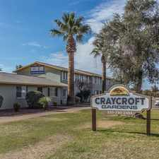 Rental info for Craycroft Gardens in the Myers area