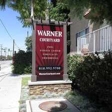 Rental info for Warner Courtyard Apartments in the Los Angeles area