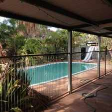 Rental info for 3x1 with tidy air con'd container & lovely pool! in the Pegs Creek area
