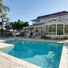 Rental info for Elegant Nedlands Family Home