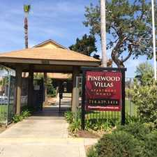 Rental info for Pinewood Villas Apartments in the 92867 area