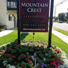 Rental info for Mountain Crest Apartments in the Upland area