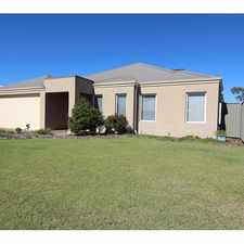 Rental info for LOVELY 4 X 2 IN WELLARD - LAWNMOWING INCLUDED in the Perth area