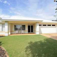 Rental info for BEAUTIFUL HOME IN A STUNNNG LOCATION! in the Baldivis area