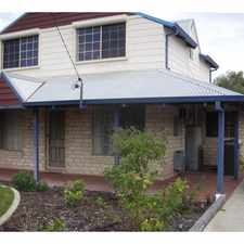 Rental info for A Spacious Bright Family Home in the Singleton area
