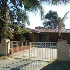Rental info for SPACIOUS, RENOVATED & PRIME LOCATION! in the Perth area
