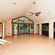 Rental info for BIG, BRIGHT FAMILY HOME ON THE GOLF COURSE! in the Perth area