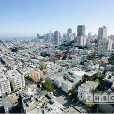 Rental info for $9999 2 bedroom Apartment in Nob Hill in the San Francisco area