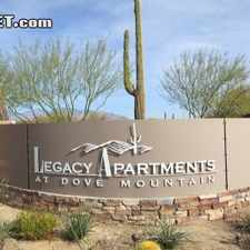 Rental info for $799 1 bedroom Apartment in Pima (Tucson) in the Marana area