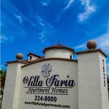 Rental info for Villa Faria Apartment Homes in the Fresno area