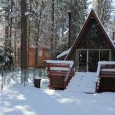 Rental info for Big Bear Lake Cabin - walk to local cafes, hiking, golf. quick drive to lake, village and zoo.