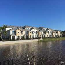 Rental info for The Quaye at Palm Beach Gardens