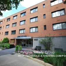 Rental info for 2725 39th St. NW in the The Palisades area
