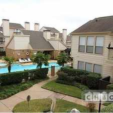 Rental info for $1600 1 bedroom Townhouse in West Houston Memorial in the Houston area