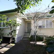 Rental info for APPLICATION APPROVED- CHARMING FAMILY HOME. HIGH ON THE HILL! in the Mount Gravatt area