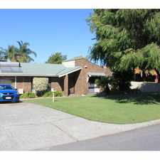 Rental info for WALK TO LEEMING PRIMARY- Immaculate Home with Pool in the Jandakot area