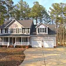 Rental info for Golf course frontage, Open living area, Close to Ft Bragg in Carolina Lakes!
