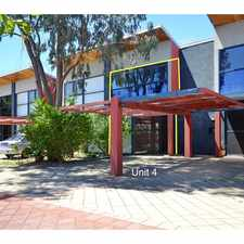 Rental info for UNIQUE TOWNHOUSE IN FANTASTIC LOCATION in the West Leederville area