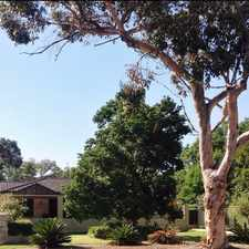 Rental info for Perfectly Positioned in the Perth area