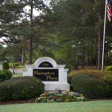 Rental info for Hampton Place Apartments