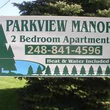 Rental info for Parkview Manor in the 48146 area