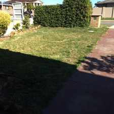 Rental info for Fantastic backyard perfect for the kids! in the Perth area