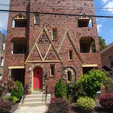 Rental info for 119 Central Square in the Pittsburgh area