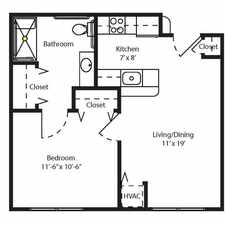 Rental info for Cahill House Apartments