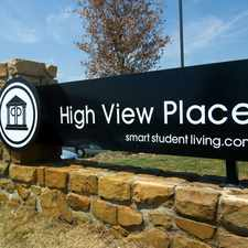 Rental info for High View Place Apartments