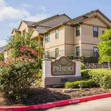 Rental info for The Presidio