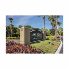 Rental info for Lake Pointe Apartments