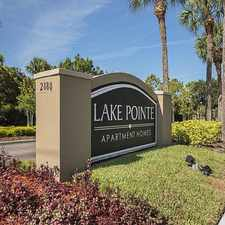Rental info for Lake Pointe