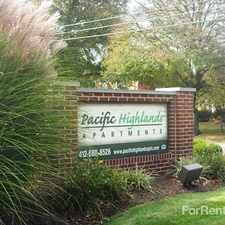Rental info for Pacific Highlands