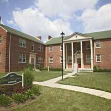 Rental info for West Hills Square Apartments in the Baltimore area