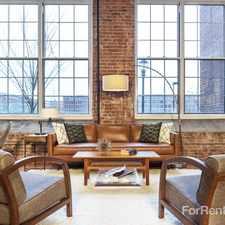 Rental info for The Riverwalk Lofts