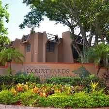 Rental info for Courtyards at Miami Lakes