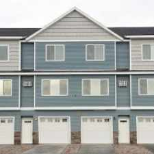 Rental info for FREE 1st MONTH'S RENT!! BRAND NEW 3 BED/2 BATH TOWN HOME, WALK TO NDSU, W/D, DOUBLE GARAGE, INTERNET, WOOD FLOORS, EXTRA STORAGE, 6-12 MONTH LEASES