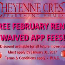 Rental info for Cheyenne Crest in the Colorado Springs area