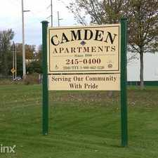 Rental info for Camden Apartments