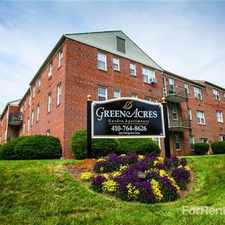 Rental info for Green Acres Apartments