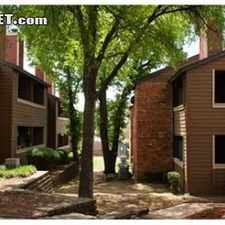 Rental info for One Bedroom In Tarrant County in the Arlington area