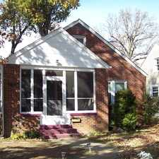 Rental info for Two Bedrm, Brick Cottage in Mid-Town Paducah - Available Now - $1100.00 inc. utilities and lawn care