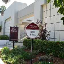 Rental info for Oak Knoll Apartments in the Pasadena area