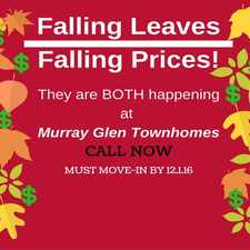 Rental info for Murray Glen Townhomes