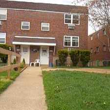 Rental info for 2 bedrooms 1 bath appt in duplex, Sec. 8 Accepted in the Torresdale area