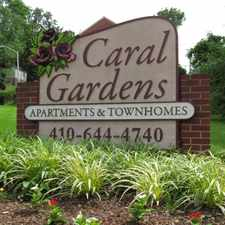Rental info for Caral Gardens in the Baltimore area