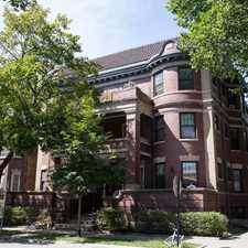 Rental info for 5700 S Blackstone Avenue in the East Hyde Park area