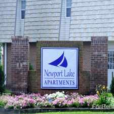 Rental info for Newport Lake Apartments