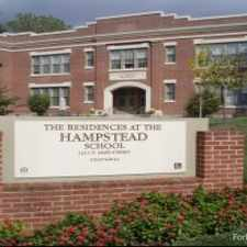 Rental info for Residences at Hampstead School